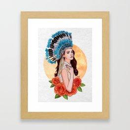 LDR X Framed Art Print