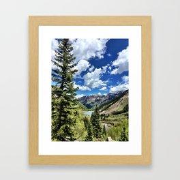 : looking back : Framed Art Print