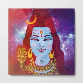 Shiva 'the auspicious one' Metal Print