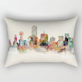 dallas texas Rectangular Pillow