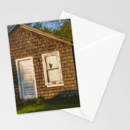 Abandoned Shack, Washburn, North Dakota 3 Stationery Cards
