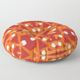Geometric abstract design for your creativity Floor Pillow