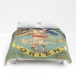Vintage poster - L'Orient Comforters