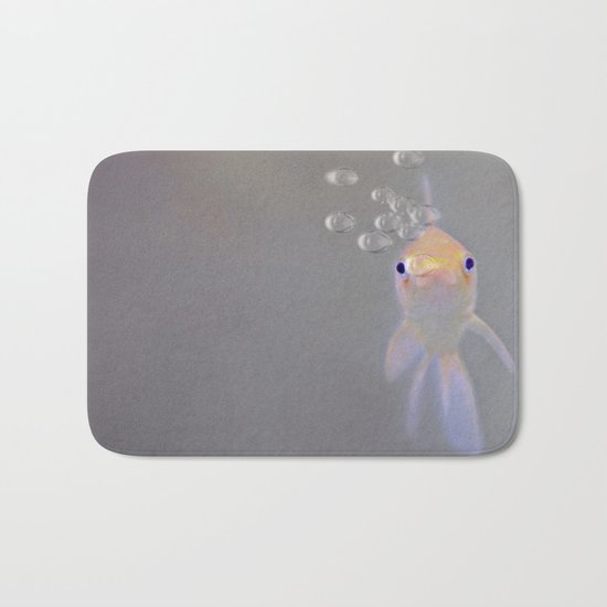 You looking at me, fishy?  Bath Mat