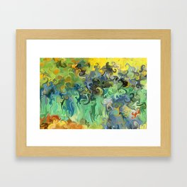 Pauls Irises, After Van Gogh Framed Art Print