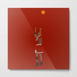 NBA Players | MichaelJordan Dunk Metal Print