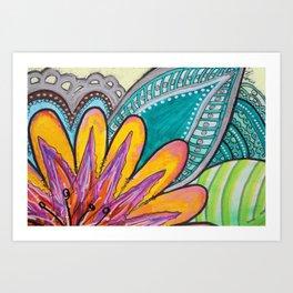 Feliz Art Print