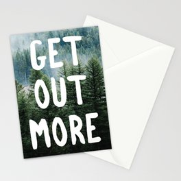 Get out more Stationery Cards