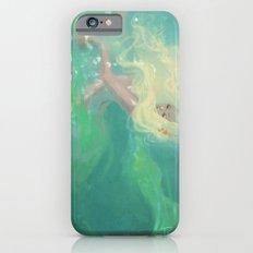 Sea foam iPhone 6s Slim Case