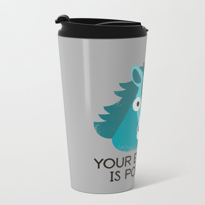 Neigh Sayer Metal Travel Mug