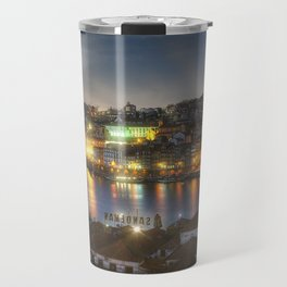 Panoramic Porto Potugal Travel Mug