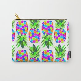 Fun, bright tropical pineapple Carry-All Pouch
