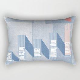 grab my hand... Rectangular Pillow