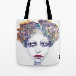 Watercolour Woman Tote Bag