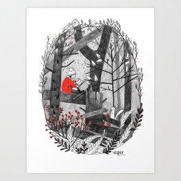 The Story Tree Art Print