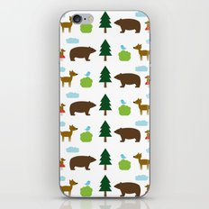 The Essential Patterns of Childhood - Forest iPhone & iPod Skin