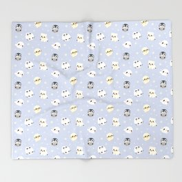 Arctic Babies Throw Blanket