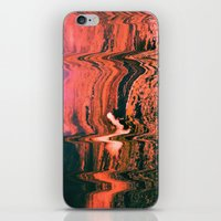 glitch iPhone & iPod Skins featuring Glitch by Bethany West