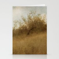 pixies Stationery Cards featuring The Magical Oak Tree by Honey Malek