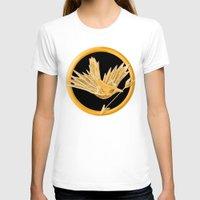 mockingjay T-shirts featuring Mockingjay by AriesNamarie