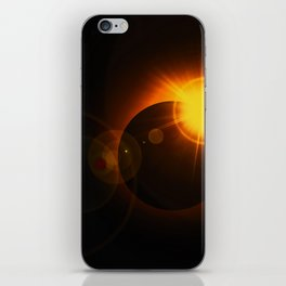 Total  Eclipse Astro Photography iPhone Skin