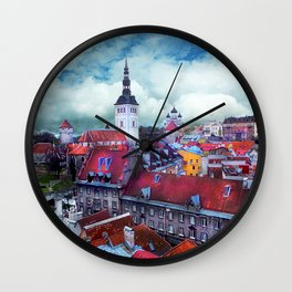 Tallinn art 3 #tallinn #city Wall Clock