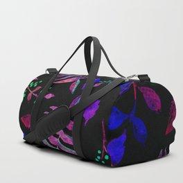 Dark floral 2 Duffle Bag