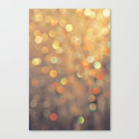sparkles Canvas Prints featuring Sparkles by Julia Eriksson