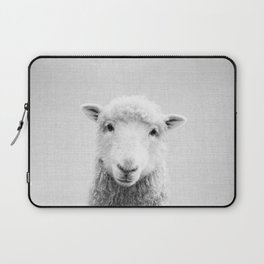 Sheep - Black & White Laptop Sleeve