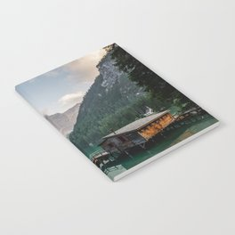 Mountain Lake Cabin Retreat Notebook