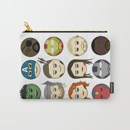 Avenger Emojis :) Carry-All Pouch