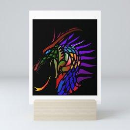Colors of a Dragon Mini Art Print