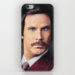 Ron Burgundy iPhone Skin