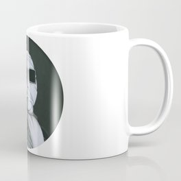 This man is Invisible on vinyl record print Coffee Mug