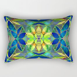 Floral Fractal Art G373 Rectangular Pillow