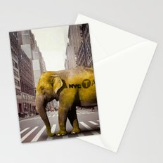 Elephant Taxi NYC Stationery Cards