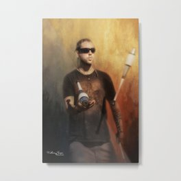 The Juggler Metal Print