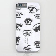 anime eyes iPhone 6s Slim Case