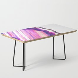 Druze violet agate Coffee Table