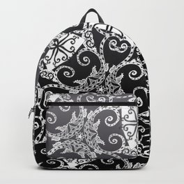 Candy Cane Tangle - Reversed Backpack