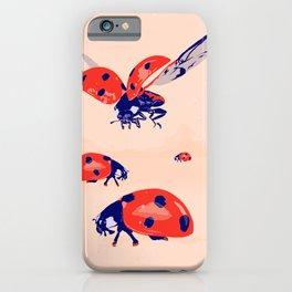 Ladybug insect farm iPhone Case