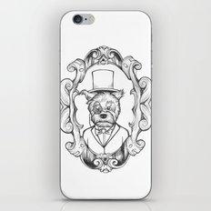 Gilles the dapper Schnauzer iPhone & iPod Skin