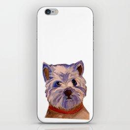 West highland terrier Westie dog love iPhone Skin