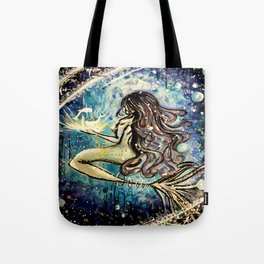 Faceless Pisces  Tote Bag