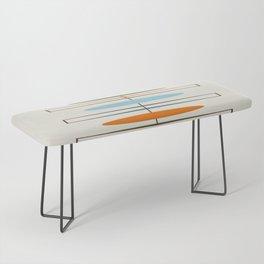 Mid-Century Modern Art 1.2 Bench