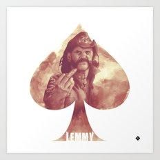 Lemmy Kilmister / Motörhead Art Print