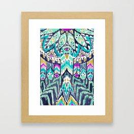 Parrot Tribe Framed Art Print