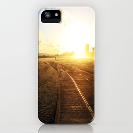 Run into the Sunset iPhone Case