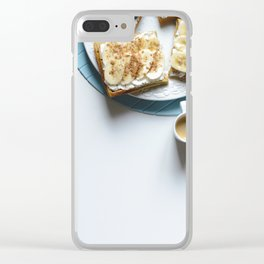 Typical Breakfast Clear iPhone Case