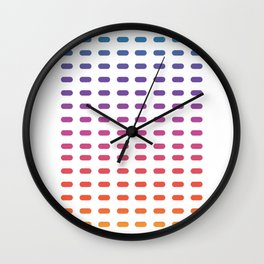 Blinds color Wall Clock